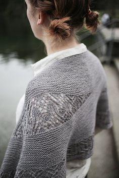 scialle a maglia