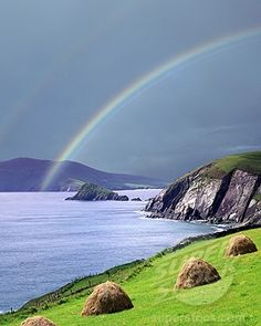Ring of Dingle, Ireland, My only hope while in Ireland is to see something like this!!! Absolutely beautiful!!