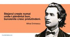 20 citate de Mihai Eminescu. Se aplică cu mare succes și la 165 de ani de la nașterea sa! Motto, Life Lessons, Poems, Spirituality, Thoughts, Movie Posters, Literatura, Quotes, Life Lesson Quotes