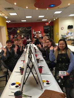 Team events make leaders bloom