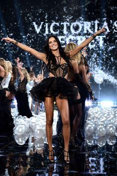 Adriana Lima at the Victoria's Secret fashion show 2014