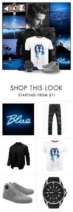 """""""Howl with the Wolfs"""" by lysianna ❤ liked on Polyvore featuring David Beckham, Seletti, Filling Pieces, Gucci, men's fashion and menswear"""