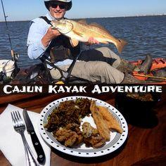 Cajun Kayak Adventure Kayak Fishing
