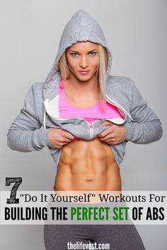 7 Amazing workouts for building the perfect set of abs. If you love planks, youll love these exercises. These workouts can be done at anytime, anywhere. More importantly is the fact theyll help you master the plank and help you workout your core in way Stomach Muscles, Muscles In Your Body, Abdominal Muscles, Flat Stomach, Fitness Tips, Fitness Motivation, Health Fitness, Elle Fitness, Fitness Plan