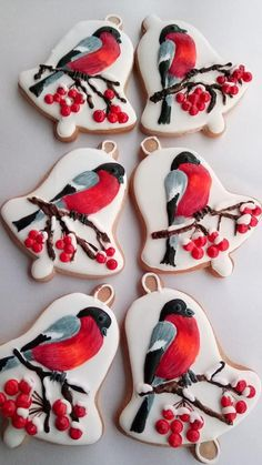Winter birds by Silvija
