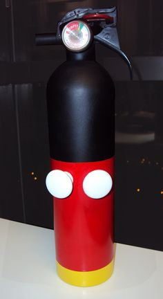 Mickey Mouse Small Empty Fire Extinguisher