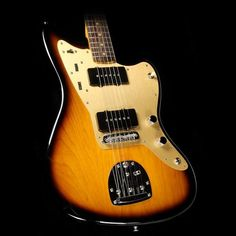Sixty years ago, Leo Fender introduced the now-legendary Jazzmaster into the Fender lineup. The futuristic guitar featured an offset waist, unique pickups with a super versatile rhythm/lead circuit, and was actually the first Fender guitar to have a rosewood fretboard. The guitar was originally picked up by Surf Rock b #fenderguitars