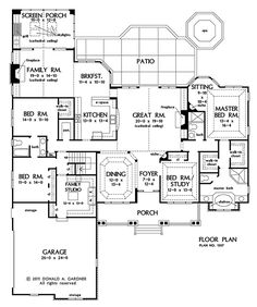 PLAN OF THE WEEK: Special Details - HousePlansBlog.DonGardner.com – Our featured designs Over & Under 2500 sq. ft. this week are each full of special details that add elegance and functionality. Craftsman ranch and bungalow. #craftsman #bungalow #planoftheweek