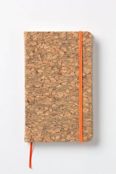 I love these cork covered journals with bits of color poking through. My husband will not write in the one I gifted him with-too beautiful, but my pocket sized version is well loved.