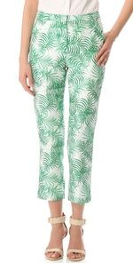 Nonoo Gloria Palm Trousers