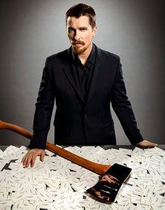 Actores recrean sus papeles protagónicos más exitosos..  #ChristianBale - American Psicho