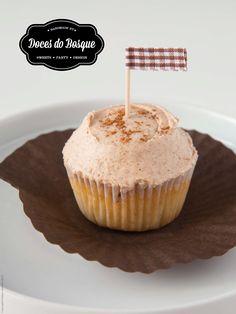 Apple and Cinnamon Cupcake