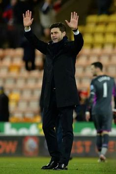 The boss after the Norwich game