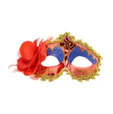 Venetiansk Ögonmask med Blomma Röd