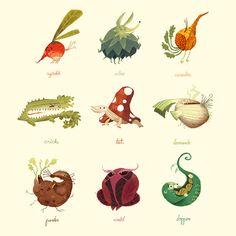 Vegetimals by Scummy