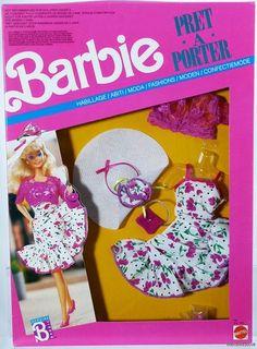 Barbie Pret A Porter Foreign Fashion 7587 NRFP Mint Condition 1988 | eBay