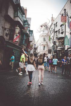 Taciele Alcolea-  Parque Harry Potter