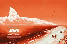Jaws (Variant) by Phantom City Creative – Mondo
