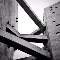 Visions of an Industrial Age // SESC Pompeia Concrete Architecture, Industrial Architecture, Gothic Architecture, Architecture Details, Interior Architecture, Interior Design, Concrete Facade, Concrete Design, Bacardi