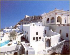 Neoclassic-Hotel-Outdoor-Amazing-View-Sunset-Holidays-Pyrgos-Santorini-Greece