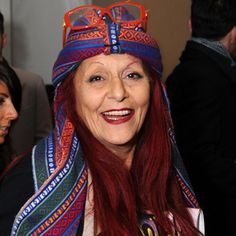 """Patricia Field, costume and fashion designer; b. 2-12-1941, NYC.  Her father was Greek; her mother, Armenian.  Field claims credit for inventing the modern legging for women's fashion in the 1970s.  Worked with Sarah Jessica Parker as a designer for """"Carrie Bradshaw.""""  She served as costume designer for """"The Devil Wears Prada"""" and was nominated for an Academy Award for Best Costume Design.  She also worked with design on """"Ugly Betty."""""""
