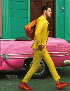 Felix Bujo GQ Japan May 2017, photographed by Daniela Federici : fashion editorial fashion photography