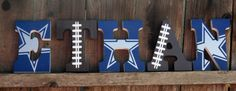 NFL Themed Letters ANY TEAM!!