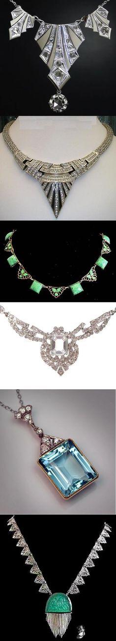 Art deco jewelry - 7 PHOTO!