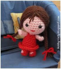 Risultati immagini per cappuccetto rosso crochet