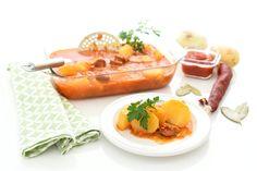 Patatas guisadas con chorizo, una receta que cunde, es barata y además muyyy rica. Probadlla, ya veréis como repetiréis y con Thermomix®.