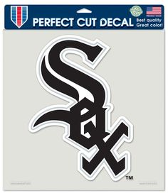 Chicago White Sox Die-Cut Decal - 8x8 Color