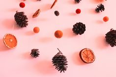 Fall in love with fall : DIY Fall Diy, Falling In Love, Berries, Deco, Pink, Happy, Blog, Pinecone, Cup Of Tea