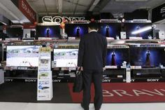 Sony has forecast an 18.5 percent rise in TV sales to 16 million units this year.