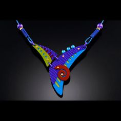 Jinglers Jewelry, works with anodized aluminum, niobium and titanium, two other metals that can be colored by anodizing, although the process is different from anodizing aluminum.
