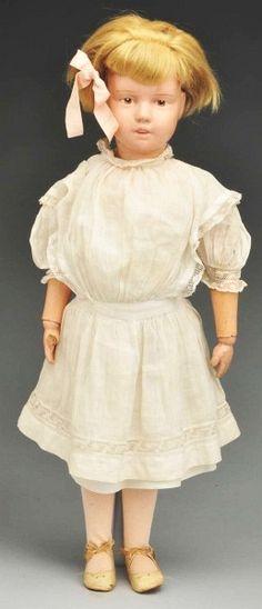 74: Schoenhut Doll Model 21/315 with Box. : Lot 74