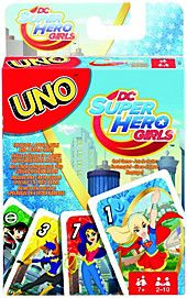 It's the matching game you love, now featuring iconic DC Superheroes! players race to get rid of all their cards by matching a card in their hand with the Toys For Girls, Kids Toys, Avengers, Parental Guidance, Dc Super Hero Girls, Mattel, Fun Board Games, Mind Power, Field Day