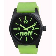 Neff Daily Watch - Black / Green