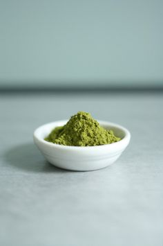 Matcha - powdered green tea. Photo by Butter me up Brooklyn                      Matcha powder is the healthiest form of green tea