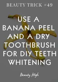 diy teeth whitening