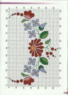 Counted Cross Stitch Patterns, Cross Stitch Designs, Cross Stitch Embroidery, Machine Embroidery, Hedgehog Cross Stitch, Cross Stitch Kitchen, Mexican Designs, Cross Stitch Flowers, Patterns In Nature