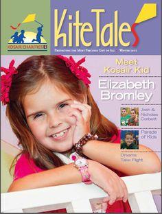 Meet Kosair Kid Elizabeth Bromley     Kite Tales Winter 2012