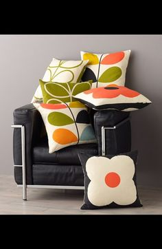 uh what? orla at nordstrom?!!! Orla Kiely Multi Stem Pillow | Nordstrom