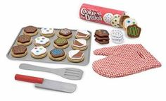 Melissa and Doug Slice and Bake Cookie Set-Play food, wood toys, Melissa and Doug. www.diaperstyle.com