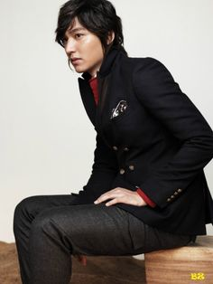 Lee Min-Ho (이민호) fall/winter fashion for S+ by Trugen.