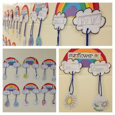 rainbow craft for compound words