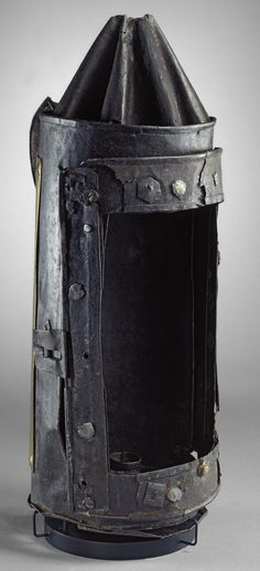 Guy Fawkes is said to have been carrying this lantern when arrested in the cellars of the Houses of Parliament in 1605