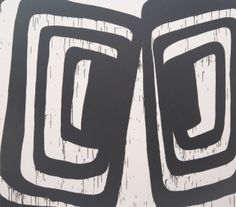 Amy Feldman, Double Pane 2012 x acrylic on canvas Work In New York, Black And White Lines, Grey Art, Abstract Painters, Contemporary Paintings, Oeuvre D'art, Les Oeuvres, Sculpture Art, Cool Art