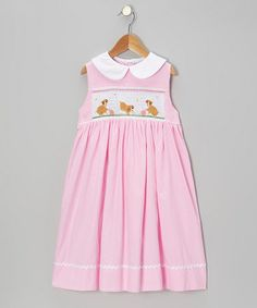 Loving this Pink Polka Dot Rocky & Molly Dress - Infant, Toddler & Girls on #zulily! #zulilyfinds