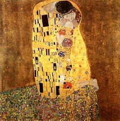 The Kiss   http://www.klimtpaintings.org/the-kiss/