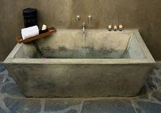 Outdoor Bathroom Soaking Tub - Casa Linda - Todos Santos, B.C.S., Mexico